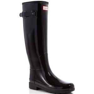 Hunter Originally Refined Glossy Rain Boots